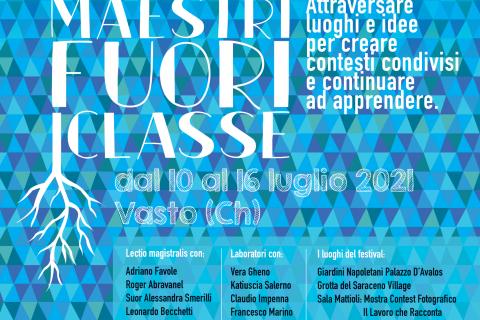 """""""Maestri fuori classe"""" a Vasto da sabato 10 a venerdì 16 luglio"""